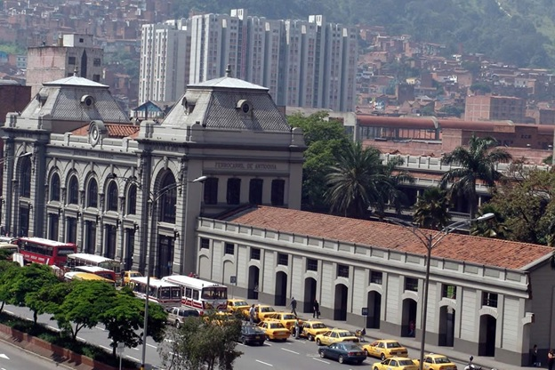Medellin's Downtown Railroad Station, now a museum/ Source: Gabriel Buitrago