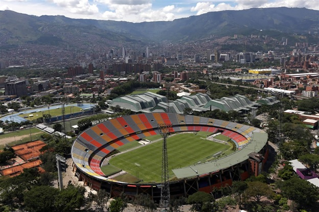 Medellin's Atanasio Girardota stadium and Olympic-style sports complex /Source: Gabriel Buitrago