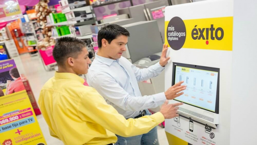 E-Commerce Sales Surging at Exito